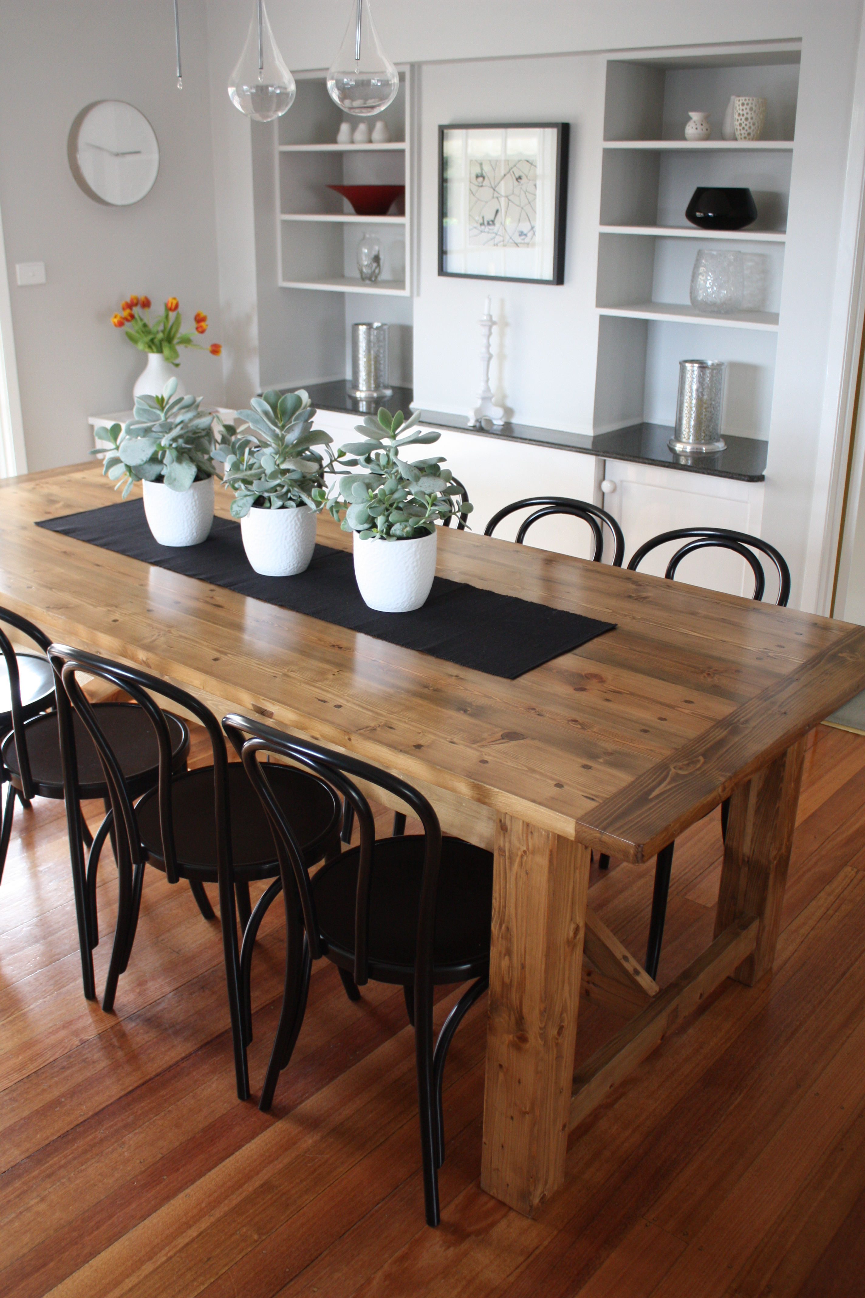 Rustic Dining Table Pairs With Bentwood Chairs Stools Chairs Blog